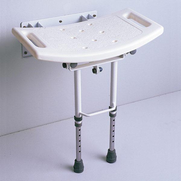 asiento de ducha abatible con patas 01