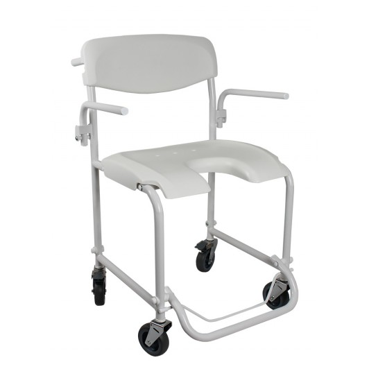 invacare alize silla ducha ruedas asiento u