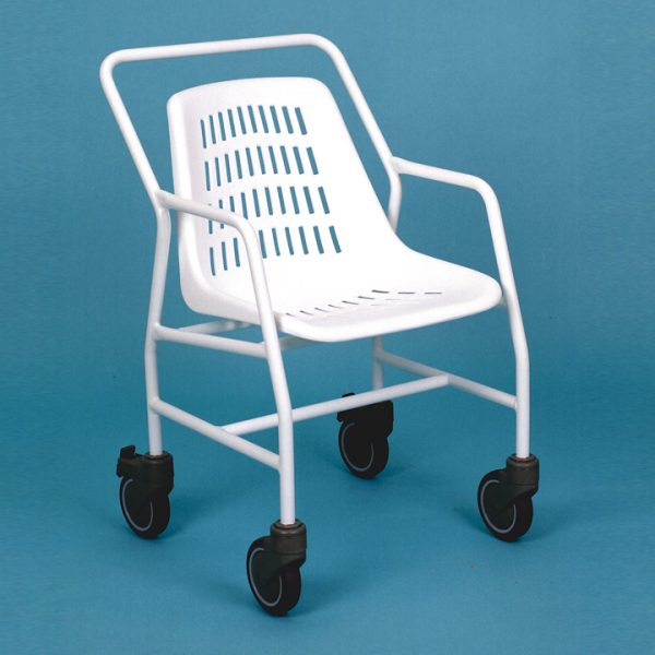 silla classic con ruedas para bano 00