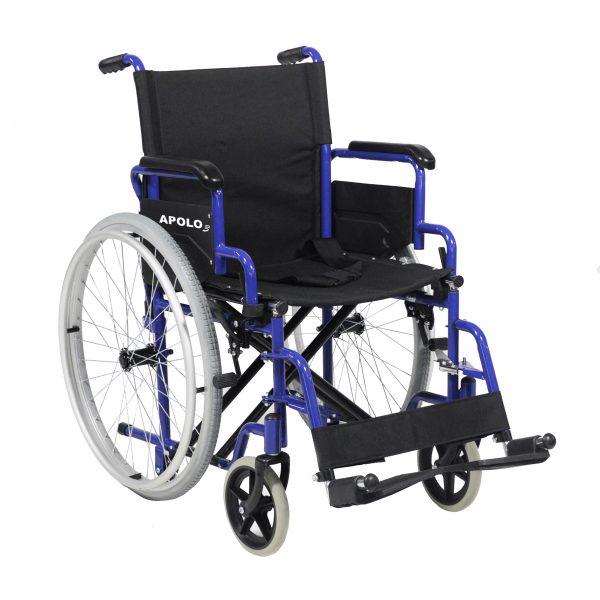 silla de ruedas plegable de acero apolo 3 01 scaled